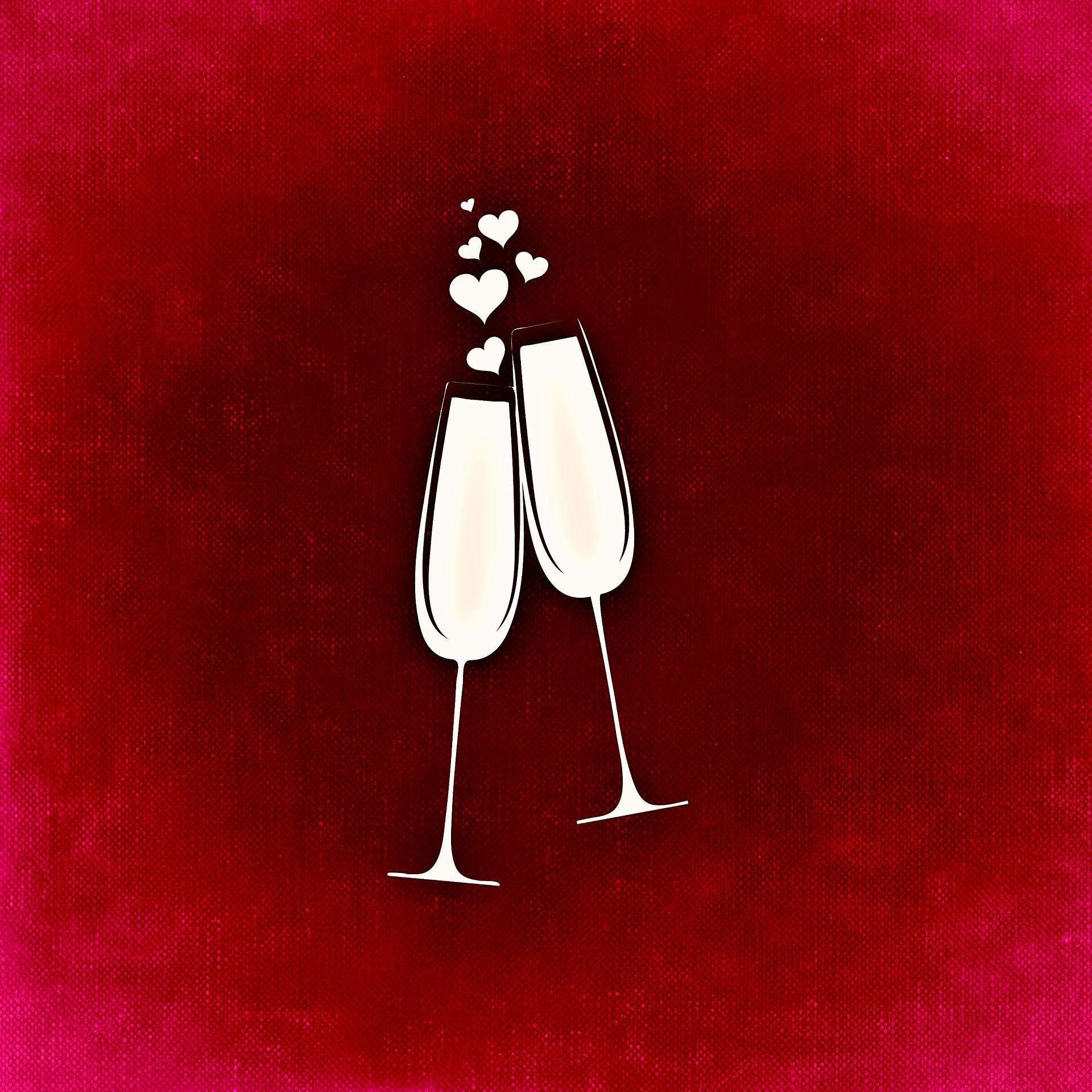 Valentýnské nápoje